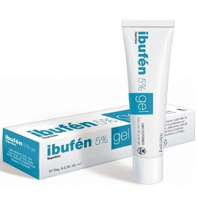 ibufen topico 50 mgg gel topico 50 g