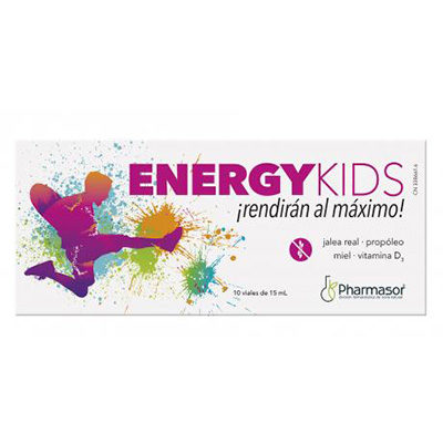 Energy kids 10 viales 15 ml